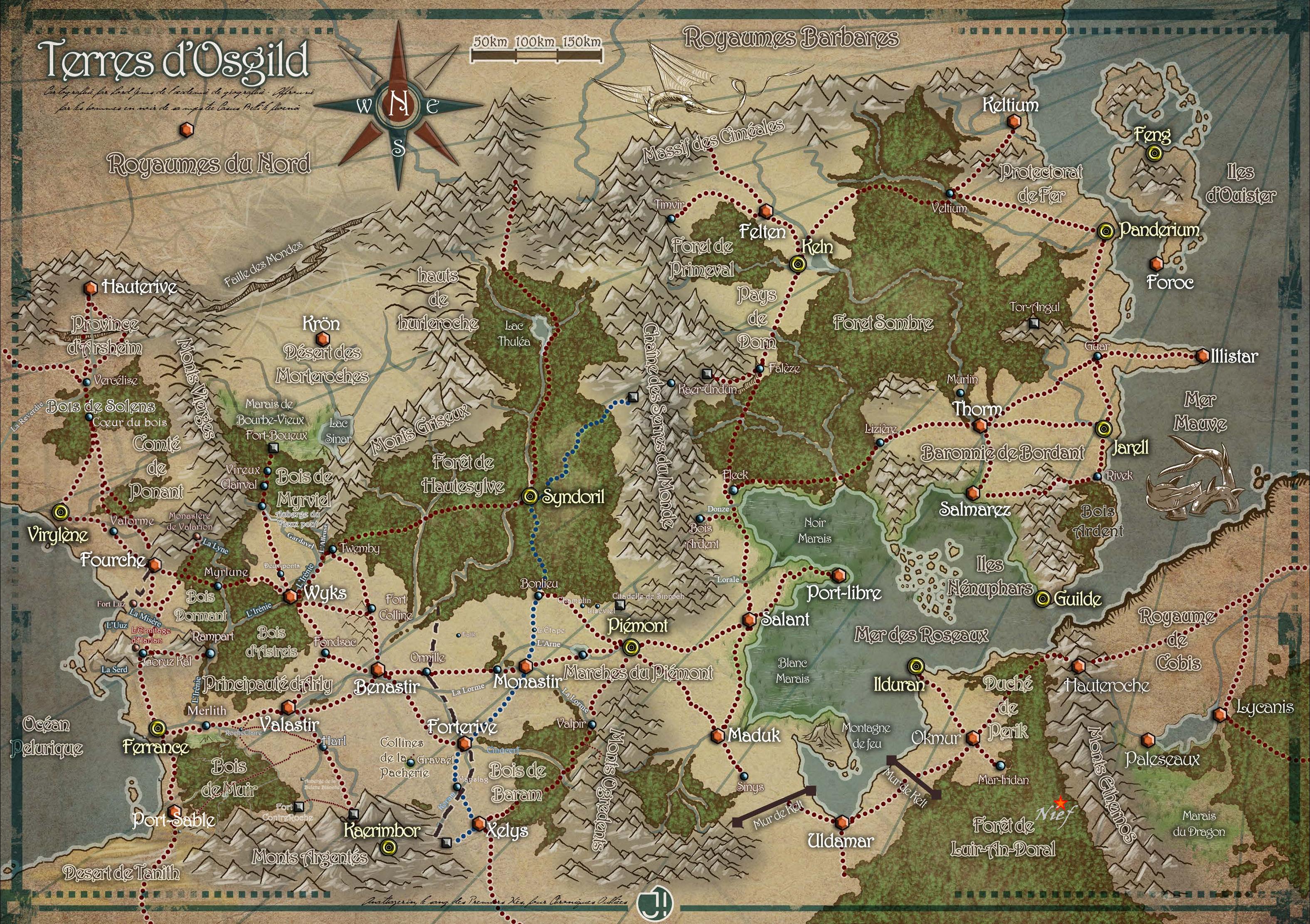 Carte d'Osgild